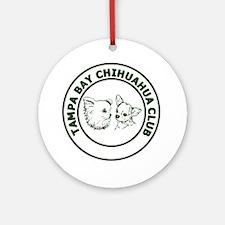Tampa Bay Chihuahua Club - Hunter G Round Ornament