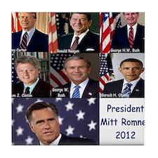 President Mitt Romney 2012 Tile Coaster