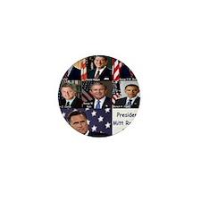 President Mitt Romney 2012 Mini Button