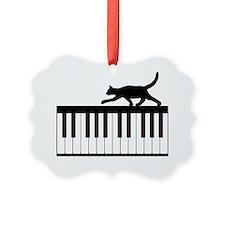 Cat and Piano v.1 Ornament