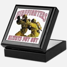 Firefighters Put Out Keepsake Box