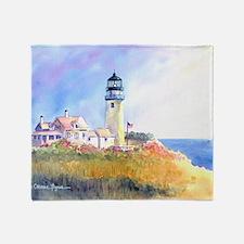 Cape Cod Light Print Throw Blanket