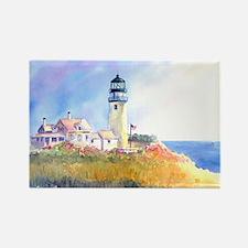 Cape Cod Light Print Rectangle Magnet