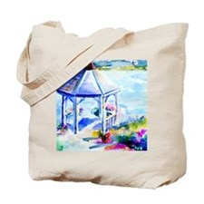 GazeboAtTheCoveShower Curtain Tote Bag