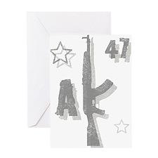 AK-47 Kalashnikov Greeting Card