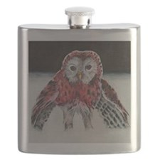 LIttle Red Riding Hoot Flask
