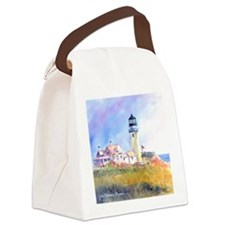 Cape Cod Light Canvas Lunch Bag