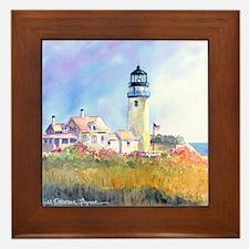Cape Cod Light Framed Tile