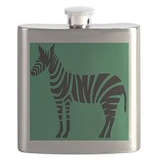 Zebra jade Flask