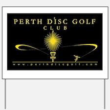 Black and Gold PDGC Yard Sign
