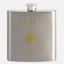 Perth Disc Golf Club Gold Flask