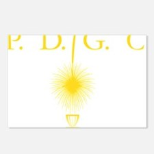 Perth Disc Golf Club Gold Postcards (Package of 8)