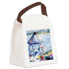 Gazebo At the Cove Canvas Lunch Bag