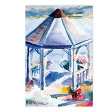 Gazebo At the Cove Postcards (Package of 8)