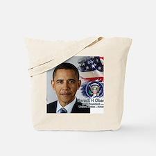 Obama Calendar 001 cover Tote Bag