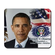 Obama Calendar 001 cover Mousepad