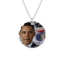 Obama Calendar 001 cover Necklace