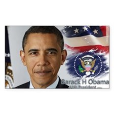 Obama Calendar 001 cover Decal