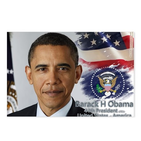 Obama Calendar 001 cover Postcards (Package of 8)