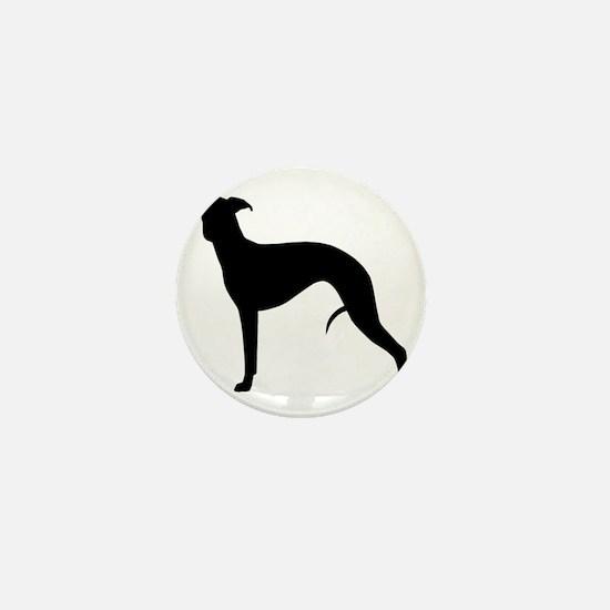 whippetblack Mini Button