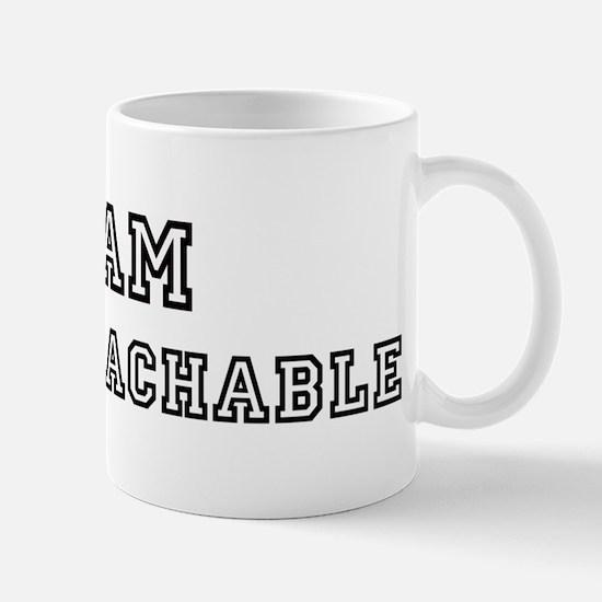 Team UNAPPROACHABLE Mug