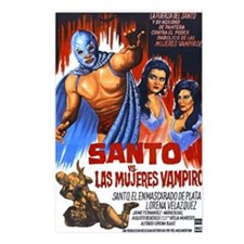 Santo vs. Vampire Postcards (Package of 8)