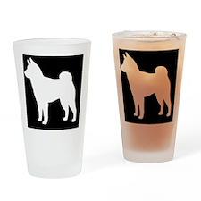 shibapatch Drinking Glass