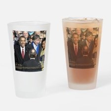 Obama Calendar 001 Drinking Glass