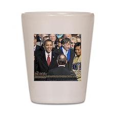 Obama Calendar 001 Shot Glass
