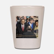 Obama Calendar 001 Shot Glass