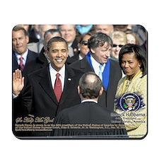 Obama Calendar 001 Mousepad