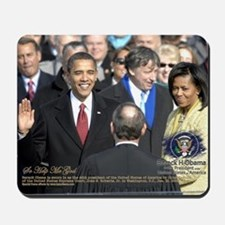 Obama Calendar 001 Mousepad