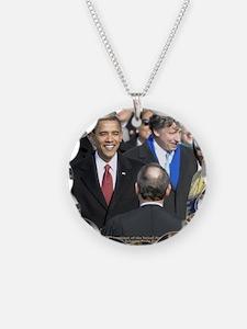 Obama Calendar 001 Necklace