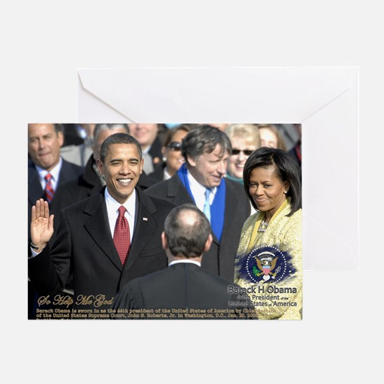 Obama Calendar 001 Greeting Card