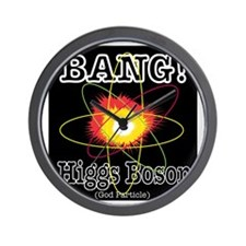HIGGS BOSON Wall Clock