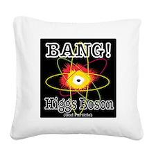 HIGGS BOSON Square Canvas Pillow