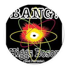 HIGGS BOSON Round Car Magnet