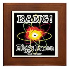 HIGGS BOSON Framed Tile