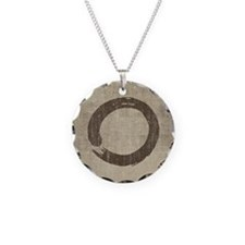 Vintage Enso Symbol Necklace