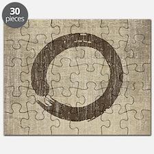 Vintage Enso Symbol Puzzle