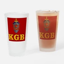 KGBemblemSC2 Drinking Glass