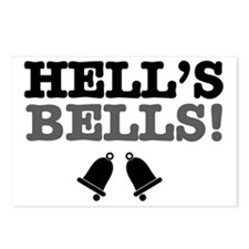 HELLS BELLS! Postcards (Package of 8)