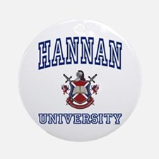 HANNAN University Ornament (Round)