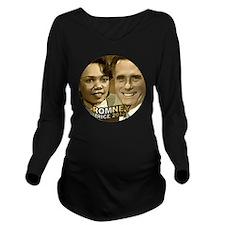 Romney Rice 2012 02 Long Sleeve Maternity T-Shirt