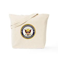 USN Navy Veteran Eagle Tote Bag