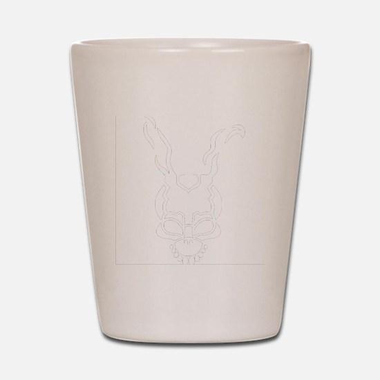 Frank the rabbit Shot Glass