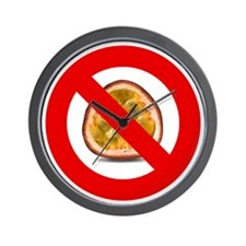 Stop Passion Fruit Allergies Large Wall Clock