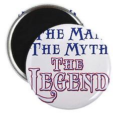Man Myth Legend Magnet