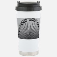 Half Ferris Wheel Stainless Steel Travel Mug