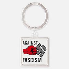 Gegen Nazis 01-2011 F 3c Square Keychain